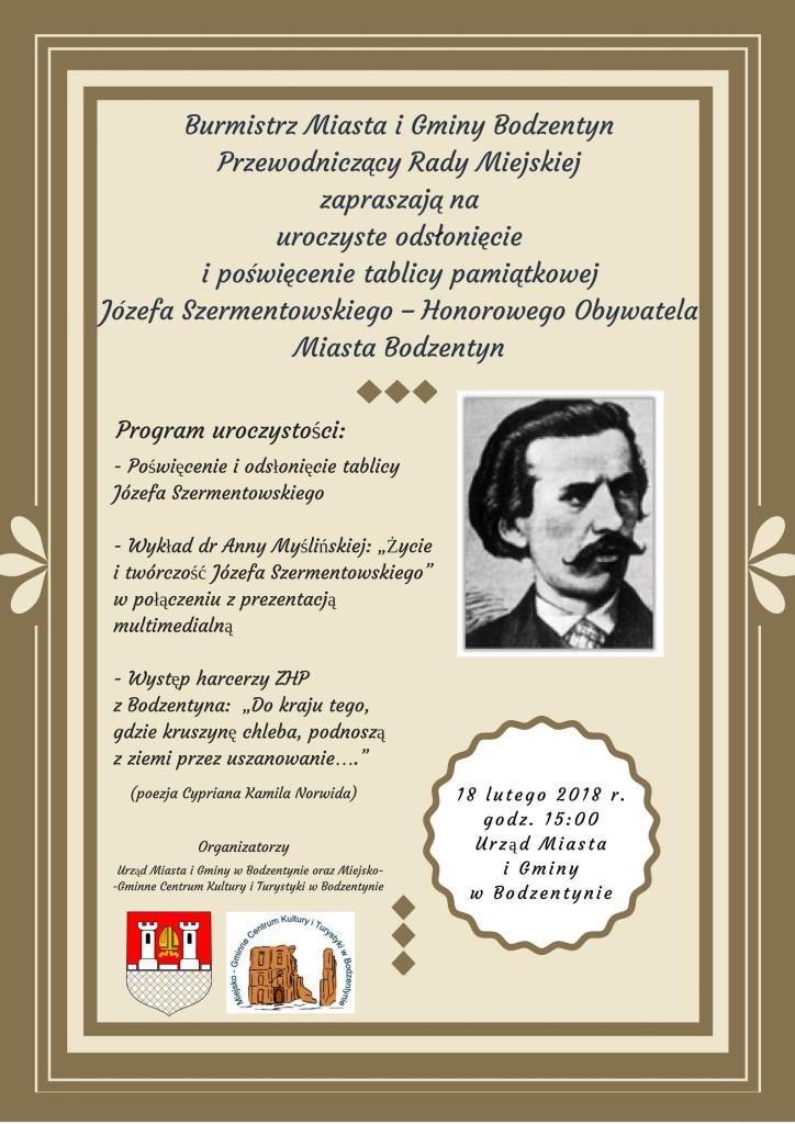 plakat Szermentowski